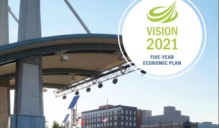 Screenshot of VISION 2021 Plan
