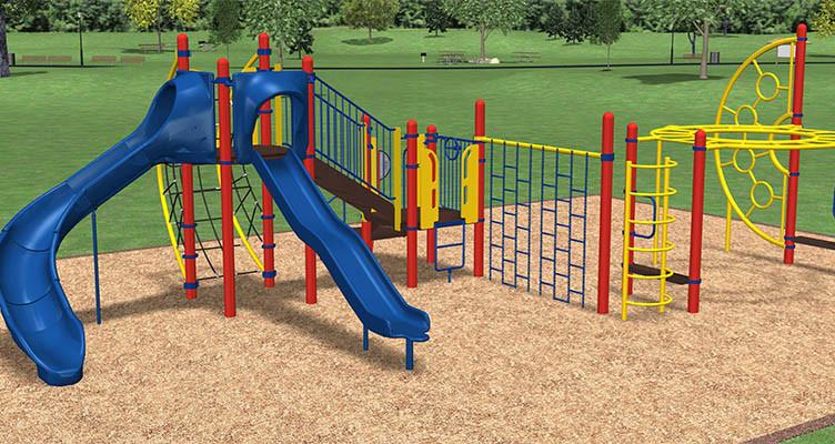 finished playground image