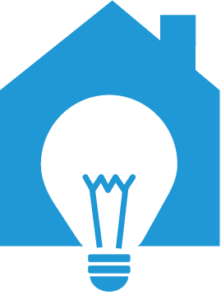IDEA blue house logo