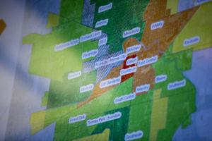Muncie food desert map